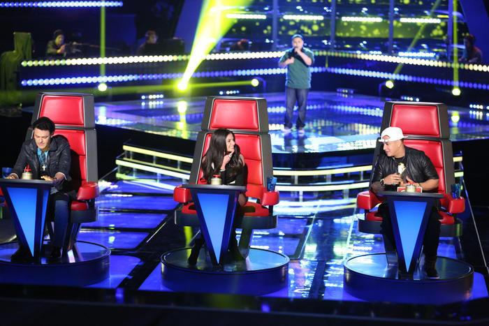 Pedro Fernández Natalia Jiménez y Daddy Yankee 2015 audiciones a ciegas