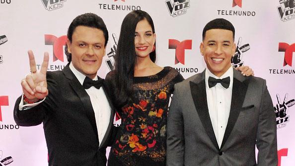 Pedro Fernandez Natalia Jimenez y Daddy Yankee La Voz Kids