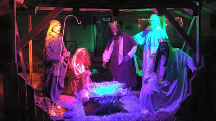 Pesebre navideño en Ohio