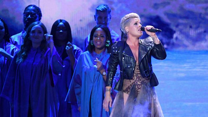 Pink en los Brit Awards 2019