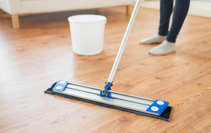 Limpieza para piso de madera