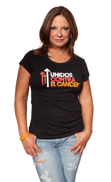 Ana María Polo en la campaña unidos contra el cáncer