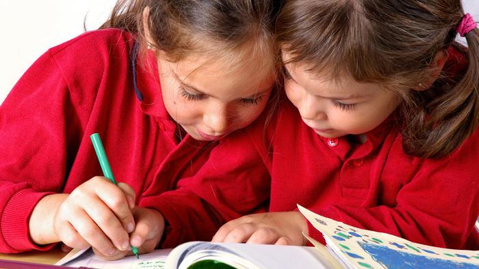 La caligrafía, señal de inteligencia en niños