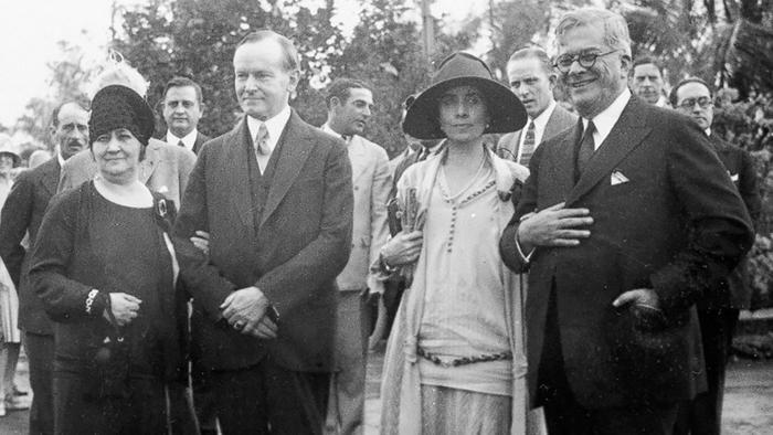 presidente Calvin Coolidge en Cuba