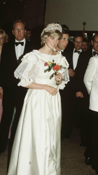 Princesa Diana en gira por Canadá