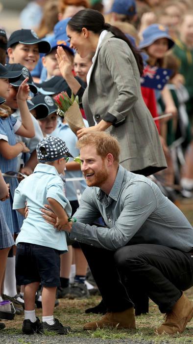 Príncipe Harry y Meghan Markle en Australia
