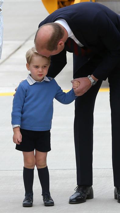 Príncipe William y el príncipe George
