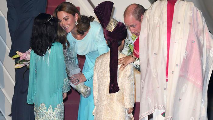 príncipe William y Kate Middleton en Pakistán