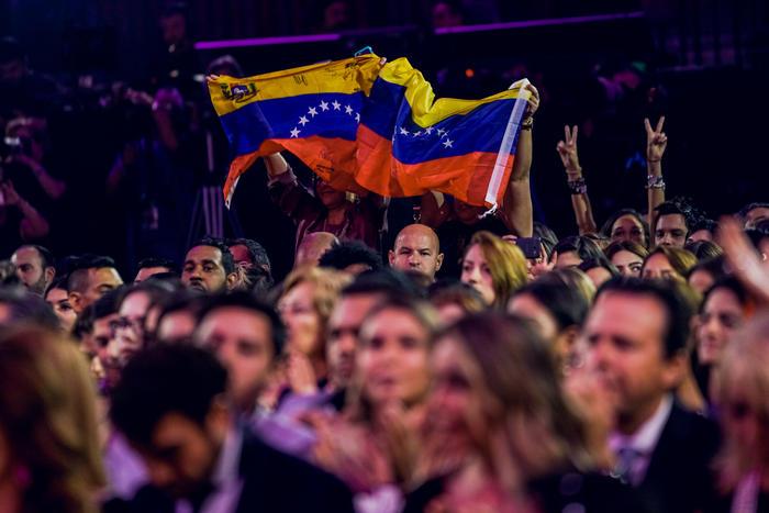 Público venezolano en Premios Tu Mundo 2017.