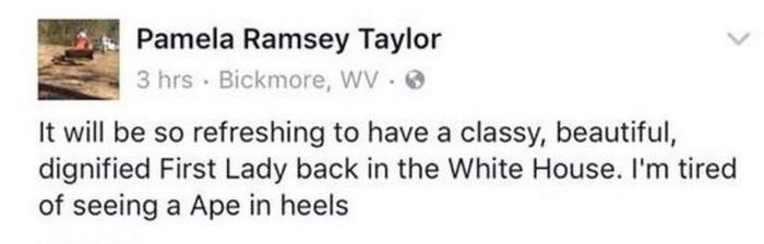 comentario racista