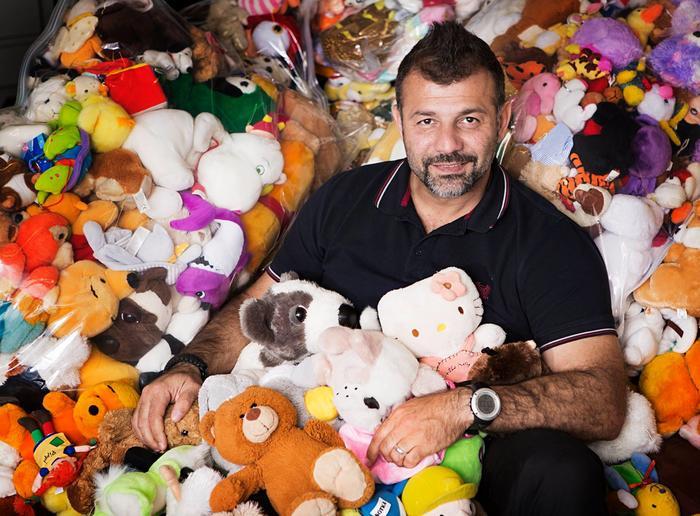 Rami Adham el contrabandista de juguetes Sirio