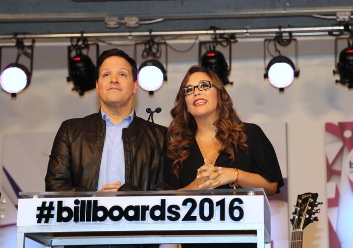 Raul Gonzales y Angelica Vale Billboards