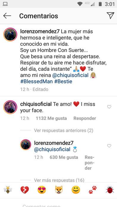 Reacción de Chiquis Rivera al mensaje de Lorenzo Méndez