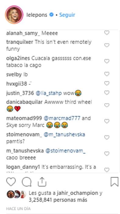 Reactions to the kiss of Maluma and Natalia Barulích