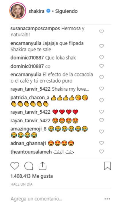 Reacciones a Shakira cantando rap