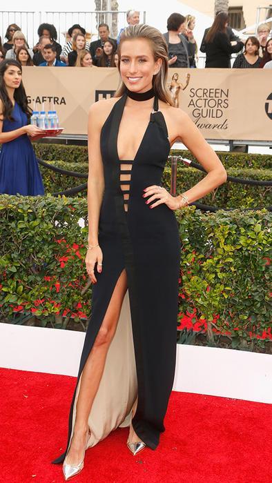 Renee Bargh en la alfombra roja de SAG Awards 2015
