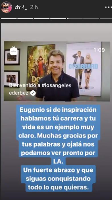 """Javier """"El Chicarito"""" Hernández le responde a Eugenio Derbez"""