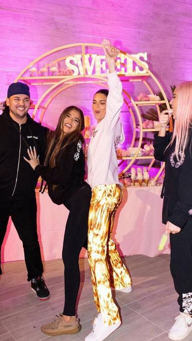 Rob Kardashian, Khloé Kardashian, Kendall Jenner
