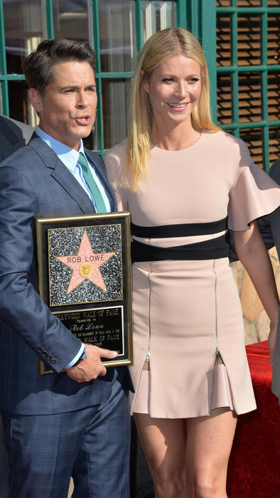 Rob Lowe y Gwyneth Paltrow
