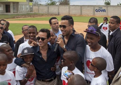 Romeo Santos y Marc Anthony abrieron un orfanato en República Dominicana