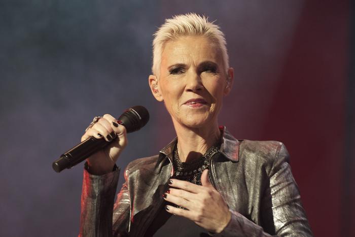 Roxette en concierto en Madrid en 2011