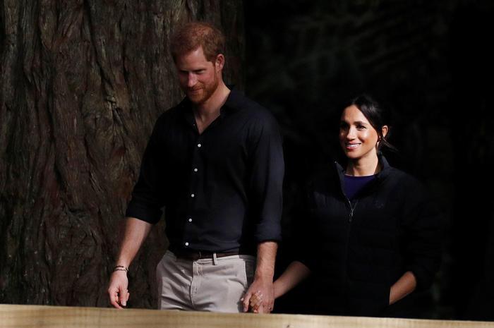 El Príncipe Harry y la Duquesa Meghan