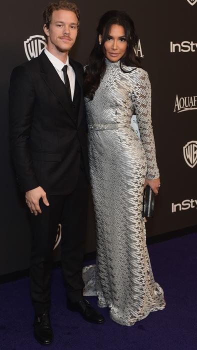 Ryan Dorsey y Naya Rivera