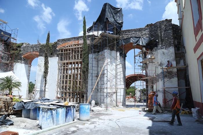 La principal parroquia de Jojutla a dos años del sismo.
