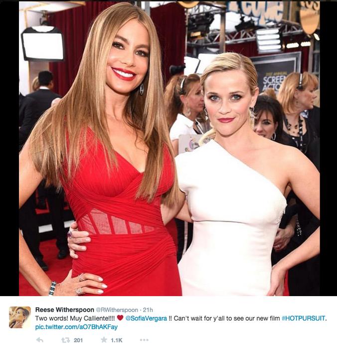Reese Witherspoon y su amiga Sofía Vergara