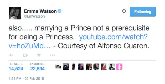 Twitter de Emma Watson