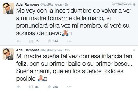 Twitts de Adal Ramones