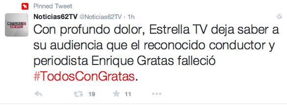 Twitter de Noticias62TV