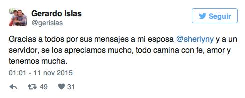 Gerardo Islas Twitter