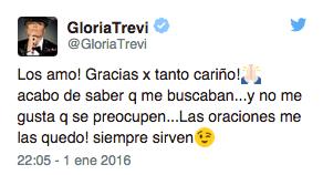Tuit Gloria Trevi