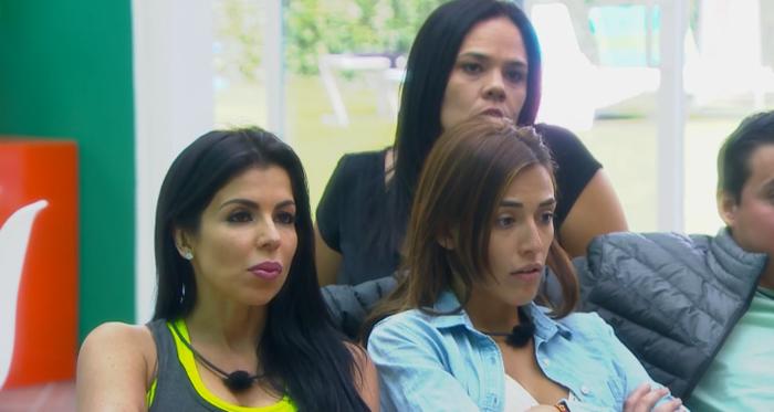 Melissa, Catalina y Jommart están sorprendidas con el nuevo reto