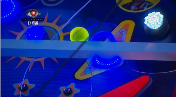 El Pinball de la sexta prueba del líder en la casa de Gran Hermano
