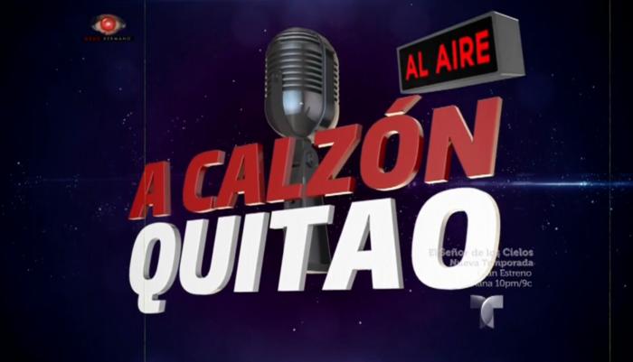 A Calzón Quitao, radio de Gran Hermano