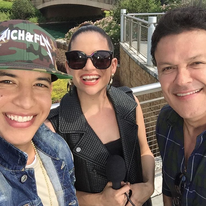 Daddy Yankee Natalia Jiménez Pedro Fernández foto de Instagram 2016