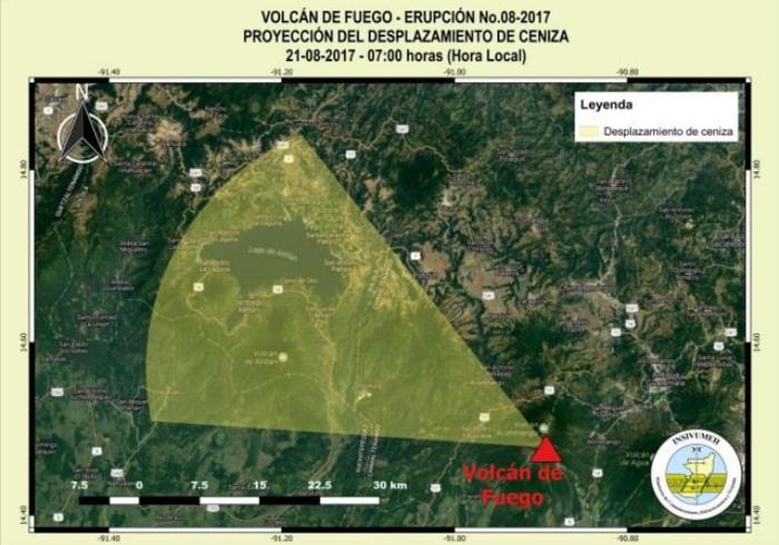 Impresionante: Volcán de Fuego de Guatemala entró en fase de erupción [FOTOS]
