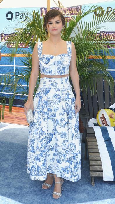 Selena Gomez en la premiere de Hotel Transilvania 3