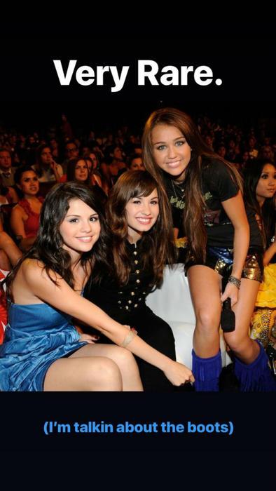 Selena Gomez, Demi Lovato, Miley Cyrus