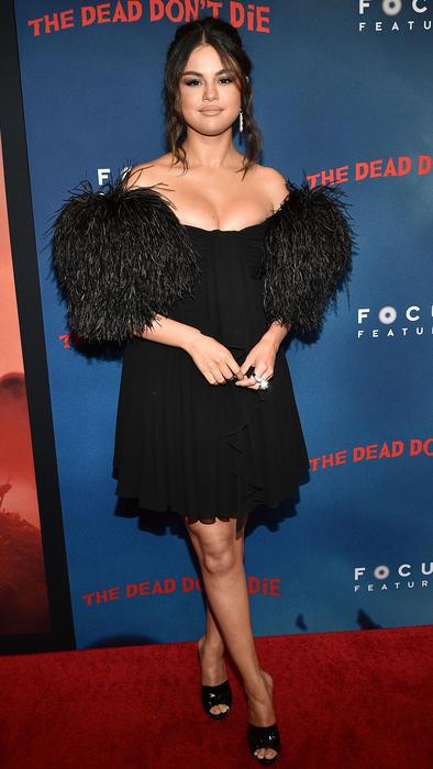 """Selena Gomez en el estreno """"The Dead Don't Die"""" en Nueva York, 2019"""