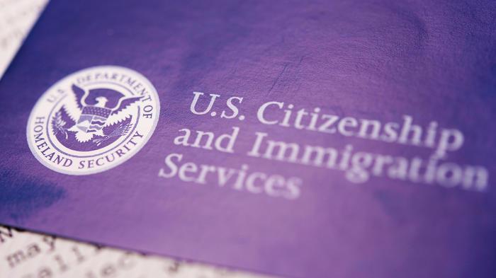 Sello de Servicios de Inmigración de EEUU