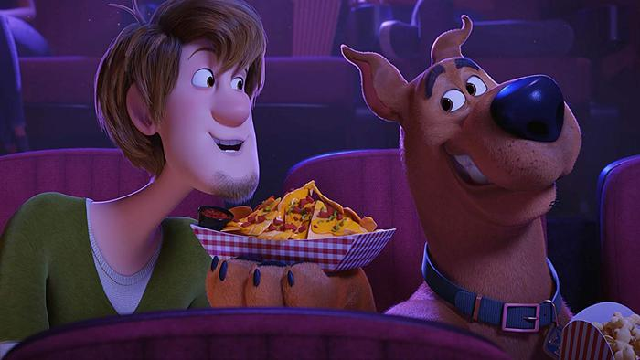 Shaggy y Scooby-Doo en el cine