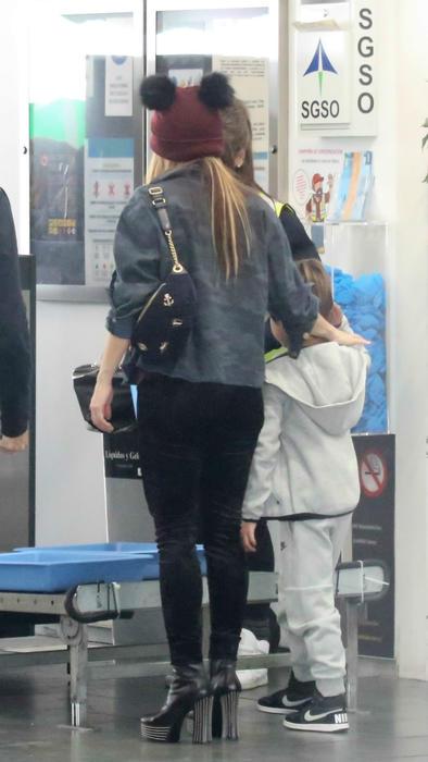 Shakira con su hijo Milan