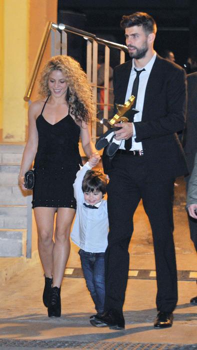 Shakira y Gerard Piqué en la Gala de las Estrellas 2015