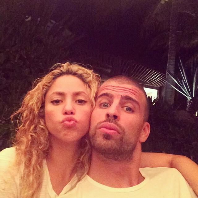 Shakira y Gerard Piqué en méxico