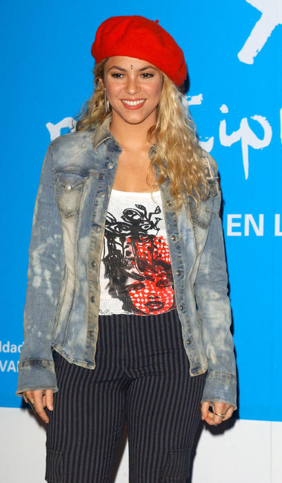 Press Conference Announcing Shakira as the New Goodwill Ambassador for UNICEF