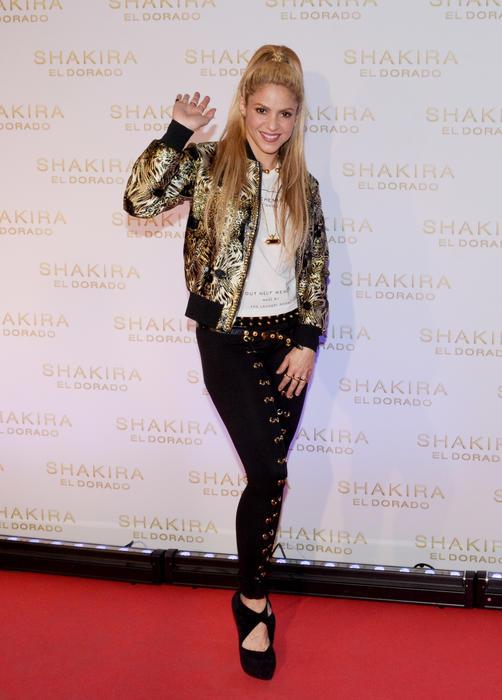 Shakira Presents New Album