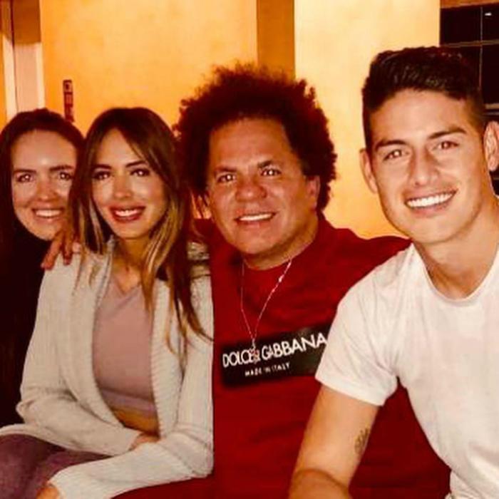 Shannon de Lima, Romero Britto y James Rodríguez
